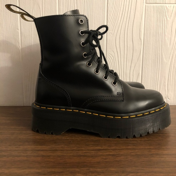 Dr. Martens Jadon Black Leather